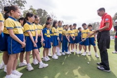School clinic during day 1 of Honma Hong Kong Open 2018 at Hong Kong Golf Club, Fanling, NT., Hong Kong, on 22  November 2018, Hong Kong SAR, China.  Photo by : Ike Li / Ike Images