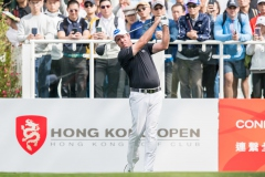 Scott Hend of Autralia in Act during round 1 of 61st Edition Hong Kong Open at Hong Kong Golf Club, Fanling, New Territories, Hong Kong, on 9  January 2020, Hong Kong SAR, China.  Photo by : Ike Li / Ike Images