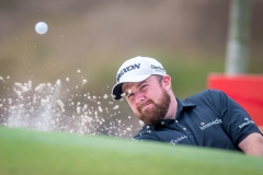 Shane Lowry of Ireland in act during round 2 of 61st Edition Hong Kong Open at Hong Kong Golf Club, Fanling, New Territories, Hong Kong, on 10  January 2020, Hong Kong SAR, China.  Photo by : Ike Li / Ike Images