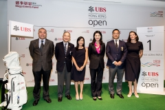 Press conference of UBS Hong Kong Golf Open 2016 at International Finance Centre II, Central, Hong Kong on 31 August 2016, Hong Kong, China Photo by Ike Li / Ike Images