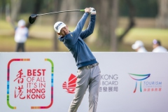 Taichi Kho of Hong Kong in Act during round 1 of 61st Edition Hong Kong Open at Hong Kong Golf Club, Fanling, New Territories, Hong Kong, on 9  January 2020, Hong Kong SAR, China.  Photo by : Ike Li / Ike Images