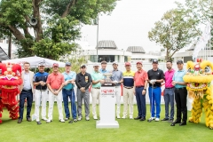 Tee-off Ceremony during Honma Hong Kong Open 2018 at Hong Kong Glof Club, Fanling, NT., Hong Kong, on 21  November 2018, Hong Kong SAR, China.  Photo by : Ike Li / Ike Images