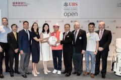 Press conference of UBS Hong Kong Golf Open 2016 Charity Cup at International Finance Centre II, Central, Hong Kong on 20 October 2016, Hong Kong, China Photo by Ike Li / Ike Images