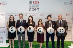 UBS Hong Kong Open Press Launch