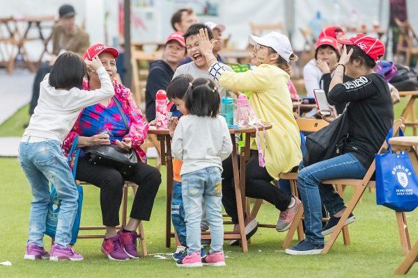 LIve music at spectator village during day 3 of Honma Hong Kong Open 2018 at Hong Kong Golf Club, Fanling, NT., Hong Kong, on 24  November 2018, Hong Kong SAR, China.  Photo by : Ike Li / Ike Images
