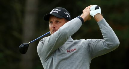 Henrik Stenson of Sweden (Photo by Getty Images)