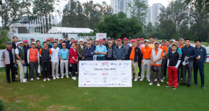 HONG KONG, HONG KONG SAR,CHINA. November 28th 2018. Charity Cup Golf at the Honda Hong Kong Open 2018