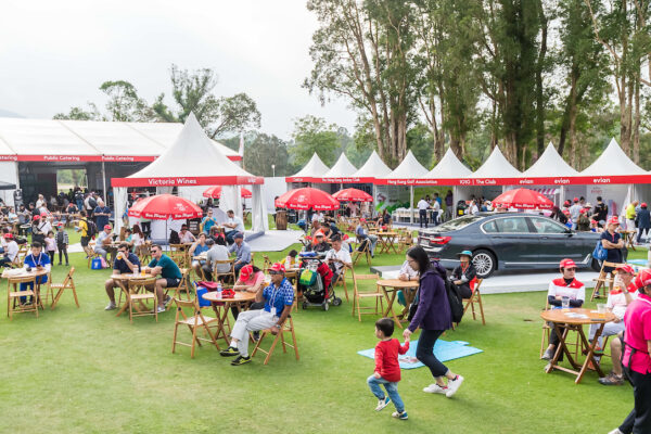 Atmosphere of spectator village during day 3 of Honma Hong Kong Open 2018 at Hong Kong Golf Club, Fanling, NT., Hong Kong, on 24  November 2018, Hong Kong SAR, China.  Photo by : Ike Li / Ike Images